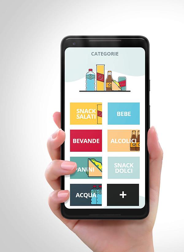 Applicazione mobile vending